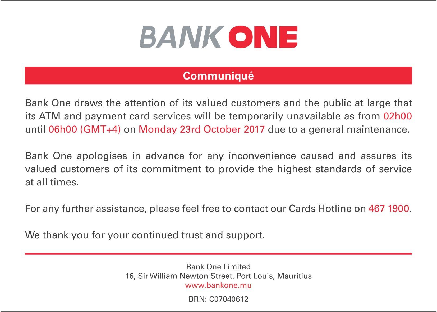 ATM-system maintenance 23-10-17